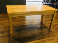 Cute Solid Oak Wood Coffee Table £40