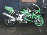 kawasaki zx6r 1997 track bike £1095ono