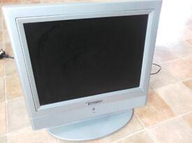 Small tv 14.8'' no remote