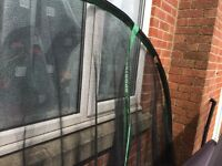 Trampoline 10 fit Excellent condition with enclosure
