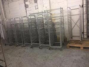 Aluminum Bakery racks