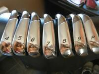 Golf iron set de fer Taylormade Burner 4-PW