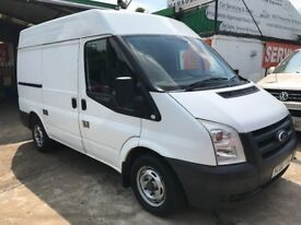 FINANCE AVAILABLE 2008 FORD TRANSIT 110 T300S FWD 2.2 DIESEL 1 OWNER 82950 GENUINE MILES 2 KEYS