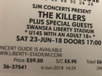 Killers Tickets & Hotel