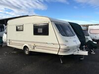 Elddis 2 berth caravan for sale no damp new tyres. Shower toilet fridge cooker. Fire not working
