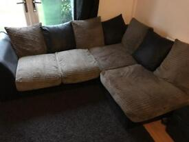 Corner sofa + Huge cuddle chair to go to good home!