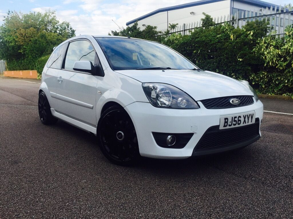 2006 56reg ford fiesta st white 17 black alloy wheels in watford hertfordshire gumtree. Black Bedroom Furniture Sets. Home Design Ideas
