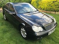 Fabulous Value 2003 Mercedez Benz C220 CDI Classic SE Automatic 108000 Miles HPI Clear October MOT