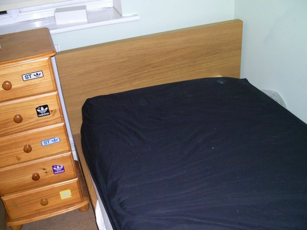 2 Solid Wood Ikea Single Beds In Leeds West Yorkshire