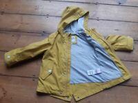 M&S waterproof coat - 18 to 24 months
