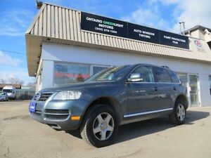 2007 Volkswagen Touareg  PREMIUM PACKAGE,SUNROOF, LEATHER,LOADED