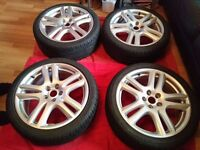 4 x aruba alloy wheels 18'