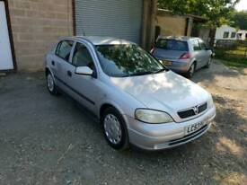 Astra club 1.6L 5DR Automatic low mileage long mot full service history