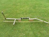 Dave Cooper Motocross / motorcycle / bike tow bar rack .