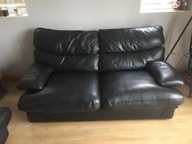 G Plan Brazilia Leather Sofa