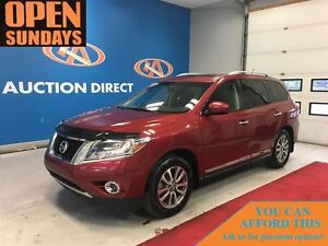 2015 Nissan Pathfinder SL 4X4! LEATHER!  2 SUNROOFS! NAVI!