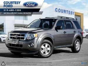 2012 Ford Escape XLT l LEATHER HEATED SEATS l BLUETOOTH l SUNROO