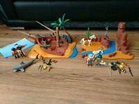 Playmobil Bundle Pirate Island & Western Set