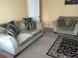 Furniture village HENNESSEY RANGE sofa suite