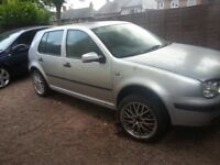 Golf s 1.4 16v spares or repairs