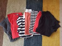Selection of maternity tops size 12 (7 tops)