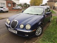 Jaguar S-Type 3.0 V6 SE 4dr. Not modified. Show car. Replica. Lowered.