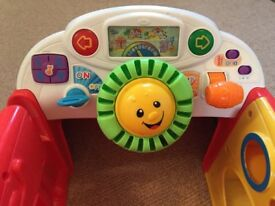 """Fisher Price Toy Car """"Laugh and Learn"""""""