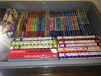 Bundle of books, Diary of a wimpy kid, Beast quest, David Williams etc. All in excellent