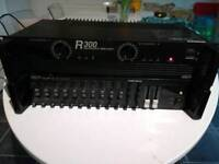 Inter M R300 reference amplifier + PP-9214 pre amp