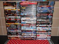 107 DVDS - £1 EACH OR £50 THE LOT