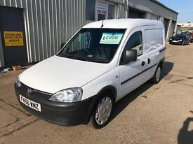 Vauxhall combo 2000 1.3 cdti, Direct from anglian water, Super clean.