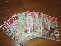 Ideal Home Magazines x 9 2015