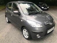 Hyundai i10 1.2 style in stunning grey 12 month mot £20 tax