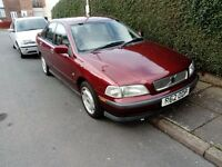 VOLVO S40 1998 1.8L PETROL MANUAL , GOOD CONDITION , MOTED TAXED AND INSURED , PERFECT RUNNER , CAR