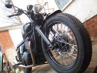 2015 Triumph Bonneville T100 - Black Edition