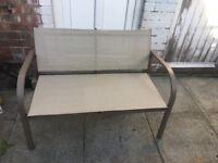 Bentley Garden textilene bench
