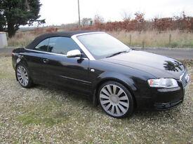 2007 Audi A4 B7 2.0 TDi Sport convertible, Service History, MOT to October.