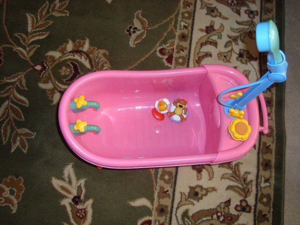 ZAPF CREATION BABY BORN BATH/OR SHOWER BATH VGC NICE GIFT | in ...
