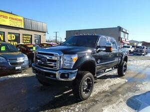 "2015 Ford F-350 -FX6 PACKAGE LEATHER 6"" LIFT  WHAT A BEAST!!"