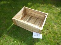 Garden planter wooden box