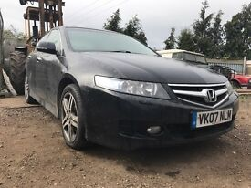 BREAKING - Honda Accord black diesel manual - all parts available - engine gearbox doors seats ect