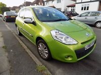 Renault Clio 1.2 i-Music - 2010 - Metallic Green - Low mileage, brakes replaced in last year