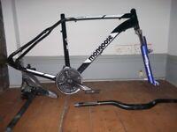 mongouse devil 2 mountainbike frame