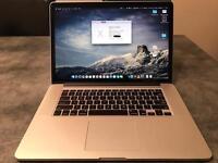 Macbook Pro Retina Mid-2015 15.4 Inch 2.2-3.4Ghz/16GB RAM/256GB