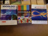 Used, Sociology AS and A Level text books for sale  West Yorkshire