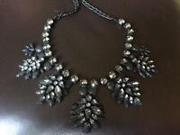 Next chunky black necklace