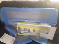 Lindam blue safety bed rail guard very goos clean condition