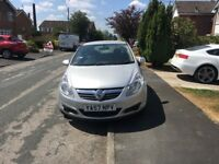 Vauxhall corsa, Automatic, silver, 2007, *14,000miles*