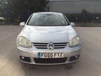 WV GOLF 2005 2.0 TDI GT, FULL SERVICE HISTORY, NEW MOT, CAM BELT CHANGED