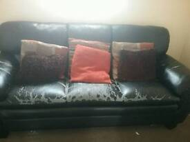 Sofa well used but plenty more life init.